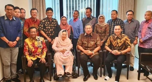 Bertemu Mahfud Md, Ibu Sinta hingga Dahlan Iskan, SBY Bicara Perlunya Rekonsiliasi