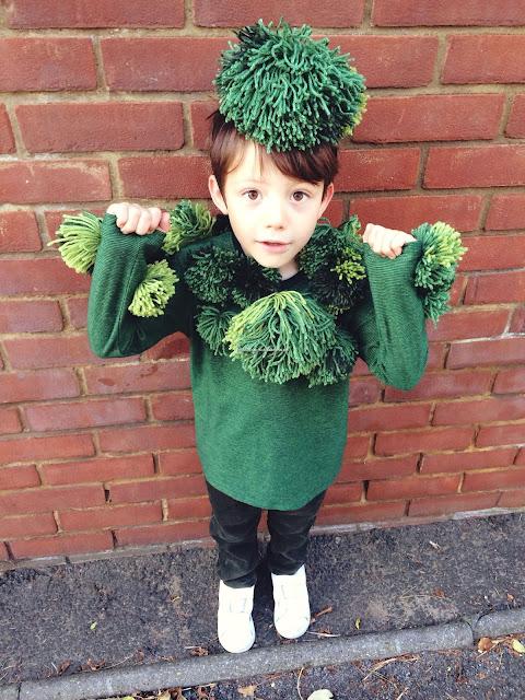 disfraz de brócoli