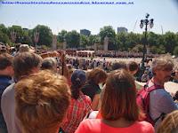 Cambio de la guardia en Buckingham Palace