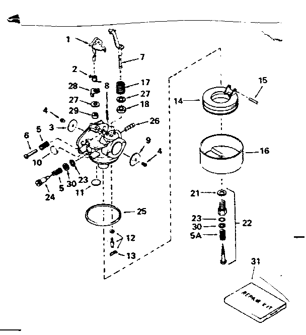 1 2 Hp Briggs And Stratton Engine Diagram Briggs