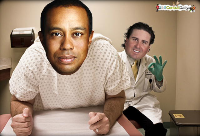Pat Perez Tiger Woods Funny Pic