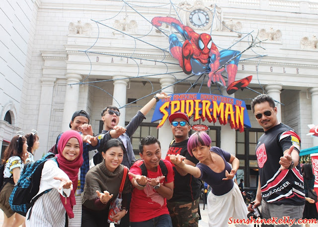 AirAsia X, Universal Studios Japan, Medis Familiarisation Trip, Osaka, Universal Studios Japan, Universal Studios, Japan, Travel, AirAsiaX booking, Eat-Man Restaurant, Hotel New Hankyu, Umeda, Hello Kitty, Halloween Costume Party, Elmo go skateboard, Universal Globe, The Amazing Spiderman