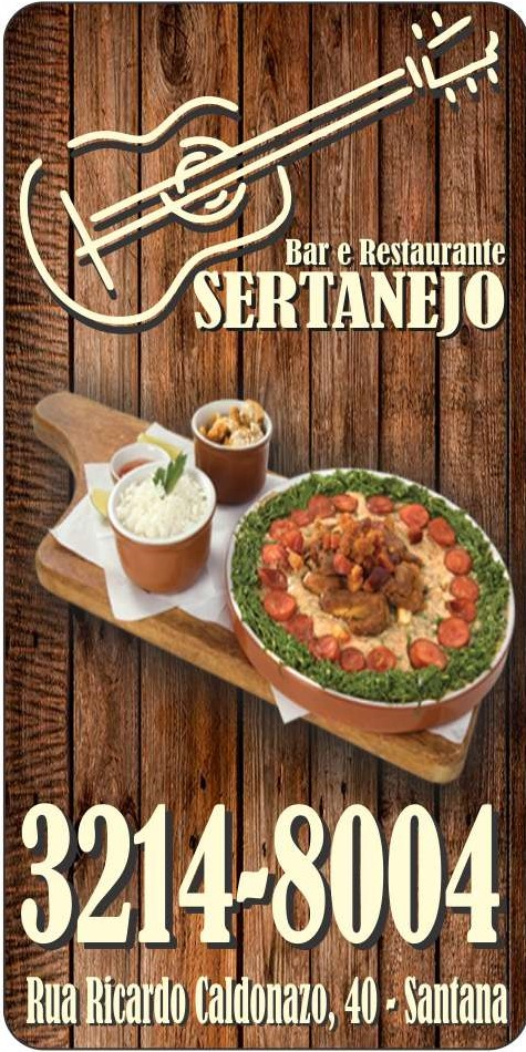 BAR E RESTAURANTE SERTANEJO