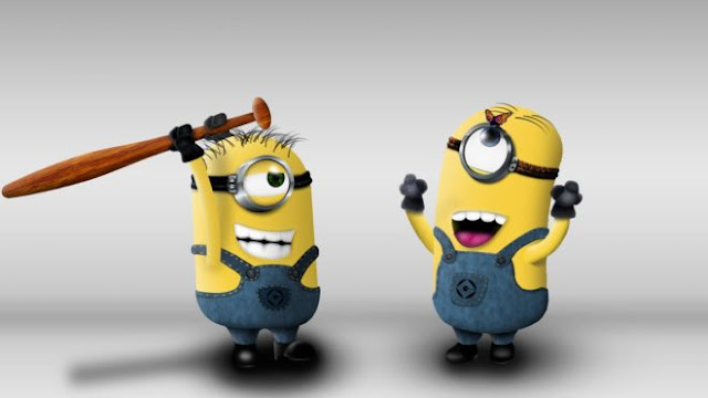 Funny Minion Butterfly Hunt HD Wallpapers