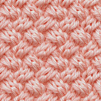 Learn Basket Weave Cable Pattern with our easy to follow instructions at HandKnittingStitches.com