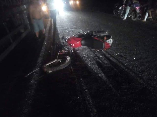 Em Piranhas, motociclista morre após colidir em caminhão na AL-225