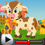 G4K Cute Calf Escape Game…