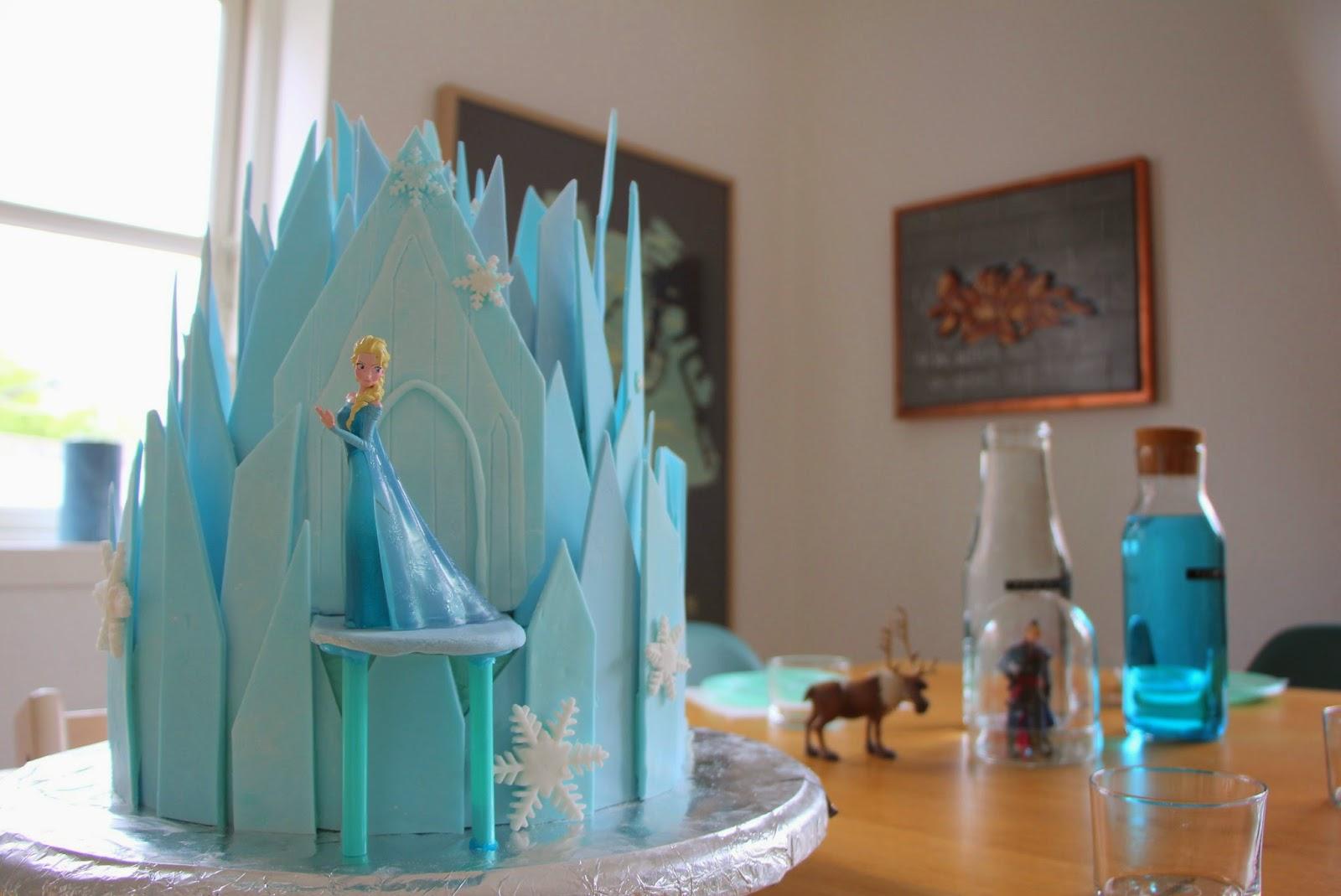 prinsesse slot kage