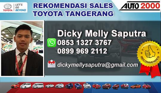 Rekomendasi Sales Toyota Auto2000 Tangerang City