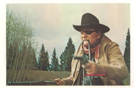 John Wayne final shootout True Grit 1969 movieloversreviews.filminspector.com