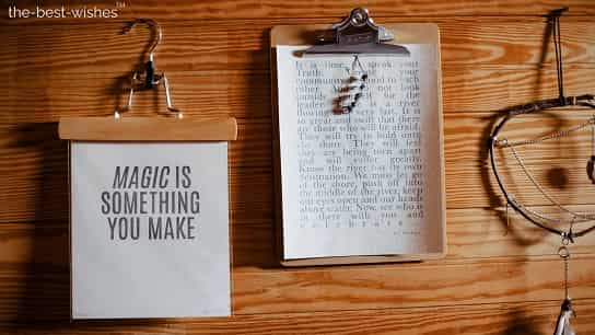 magic is something you make good morning love quotes for her