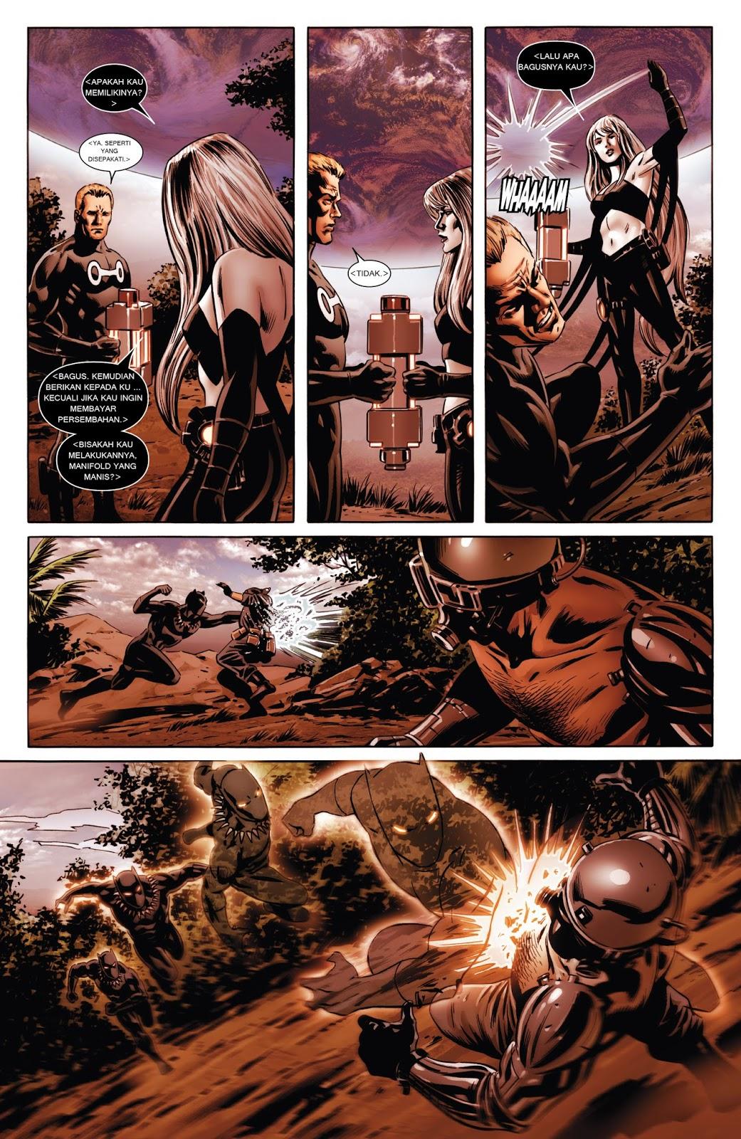 komik amerika bahasa indonesia new avengers 1