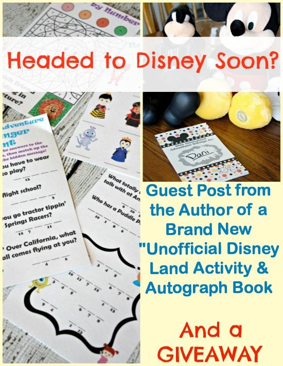 Disney activity book printable