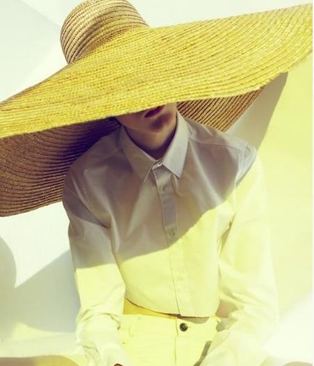 соломенная бохо шляпа