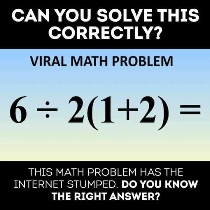 Viral Mathematical Problem with answer - Shake The Brain