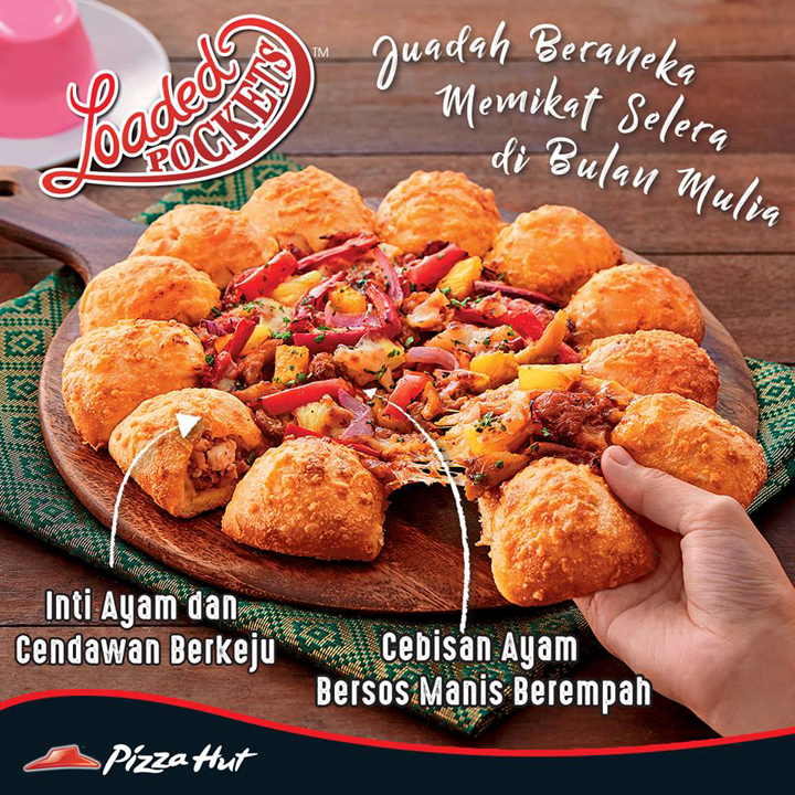 Sempat Merasa Loaded Pockets Pizza Hut
