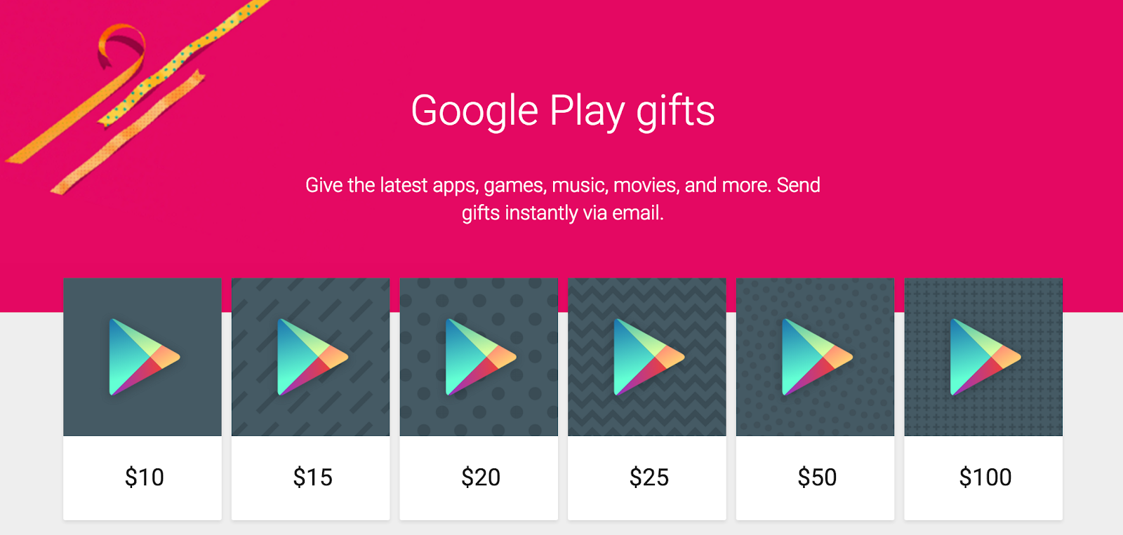 Khi Quý khách mua google play Gift Card thì chúng tôi sẽ cung cấp cho khách  hàng một dãy seri bao gồm các chữ số (gọi là mã code google play giftcard).