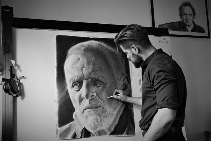 03-Sir-Anthony-Hopkins-Ivan-Kobilšek-Pencil-Portrait-www-designstack-co