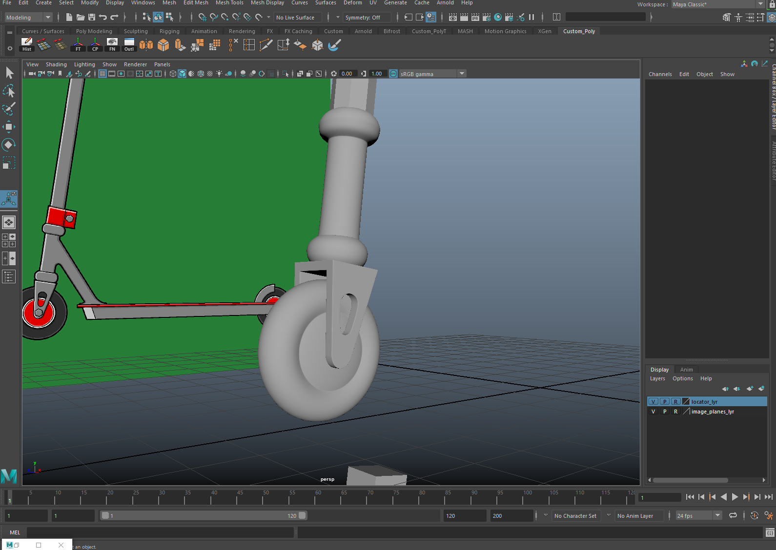 Toolkit 1: Autodesk Maya: Hard Surface Modelling Part 2