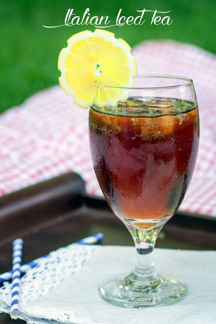 Italian Iced Tea Cocktail Recipe