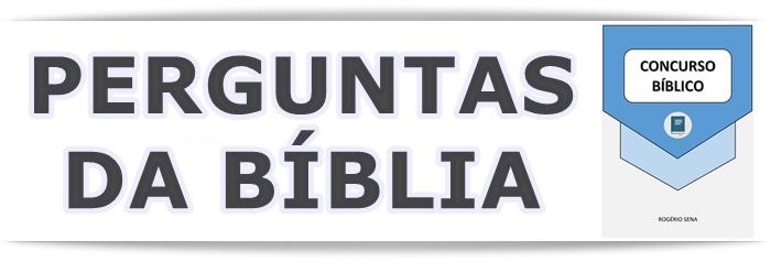 Perguntas da Biblia