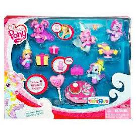 My Little Pony Cheerilee Birthday Splash Accessory Playsets Ponyville Figure