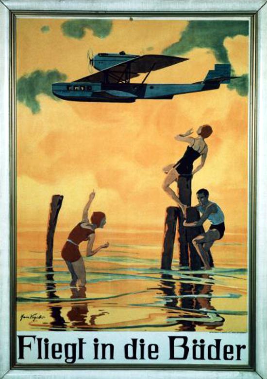 Lufthansa poster 1926