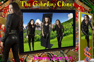 "Book cover art: ""The Gohrlay Clones"" by Ivory Fersoni"