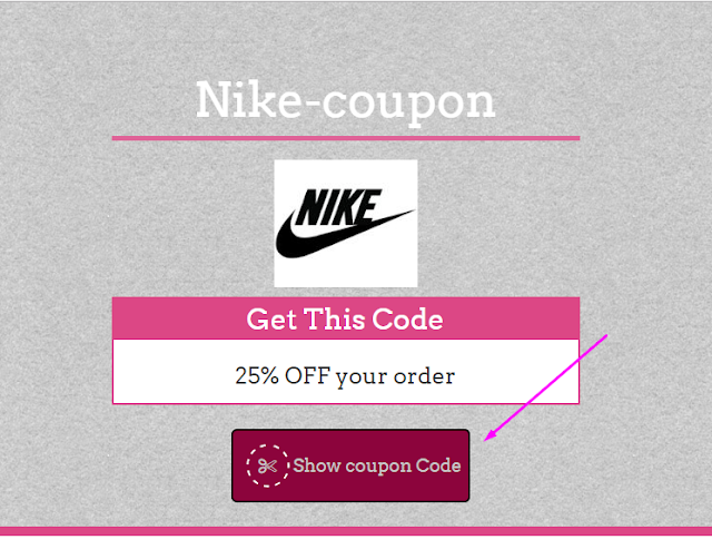 Nike 35% Coupon Code May 2017