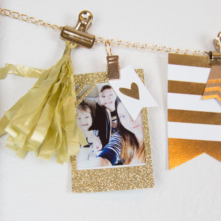 DIY Instax Photo display frame by @createoften for @heidiswapp