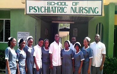 School Of Psychiatric Nursing Calabar Form 2018/2019 Out