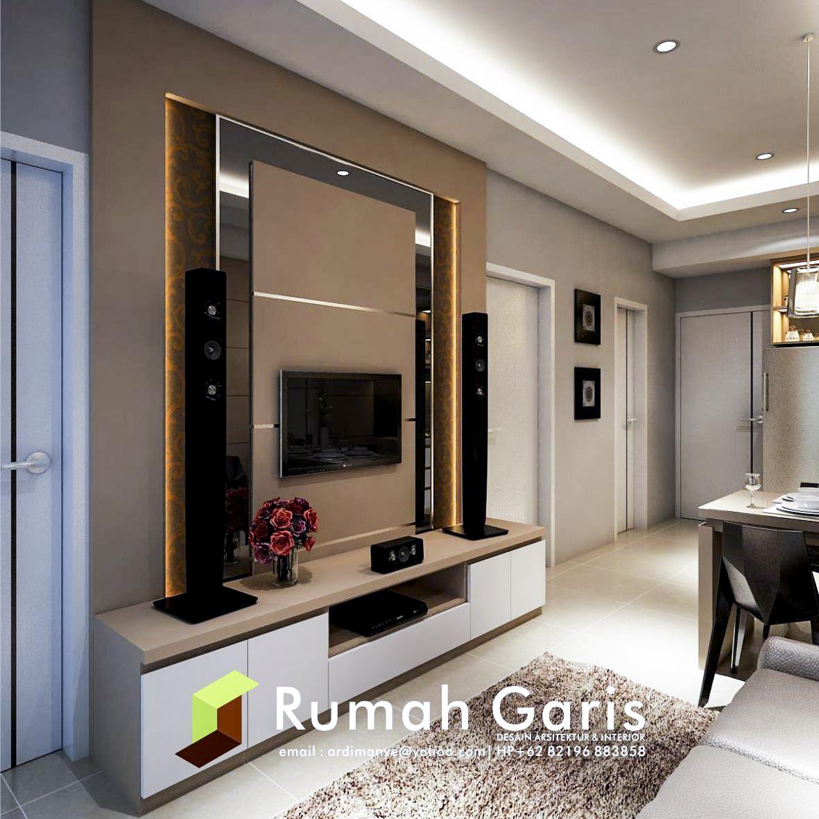 Desain Interior Apartemen Mewah Konsep Klasik Minimalis Modern Di
