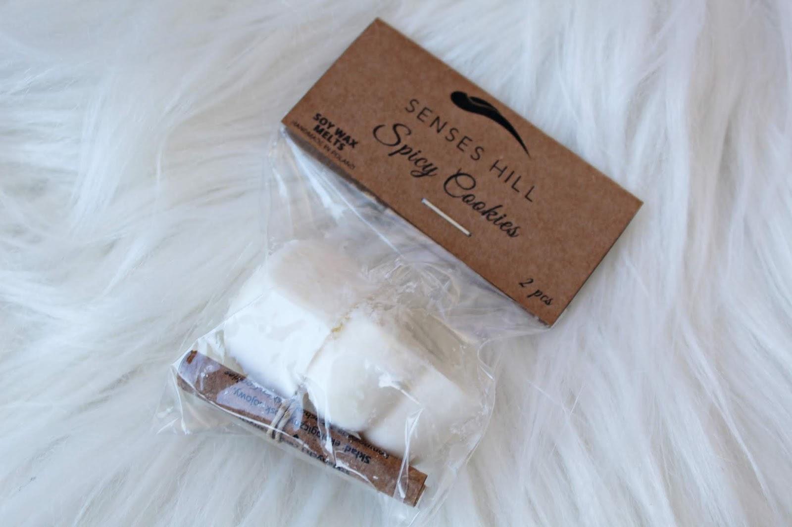 Senseshill Sojowe woski zapachowe SPICY COOKIES