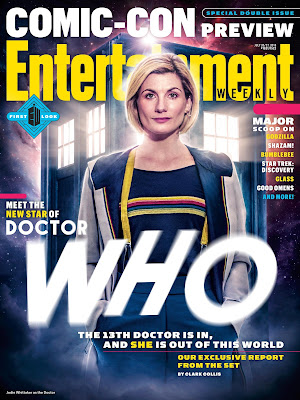 Entertainment Weekly 2018 Comic Con Preview cover featuring Jodie Whittaker