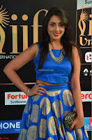 Madhu Shalini Looks Super Cute Slim trim Blue Choli Ghagra IIFA Utsavam Awards 09.JPG