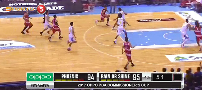 Rain or Shine def. Phoenix, 96-94 (REPLAY VIDEO) April 12