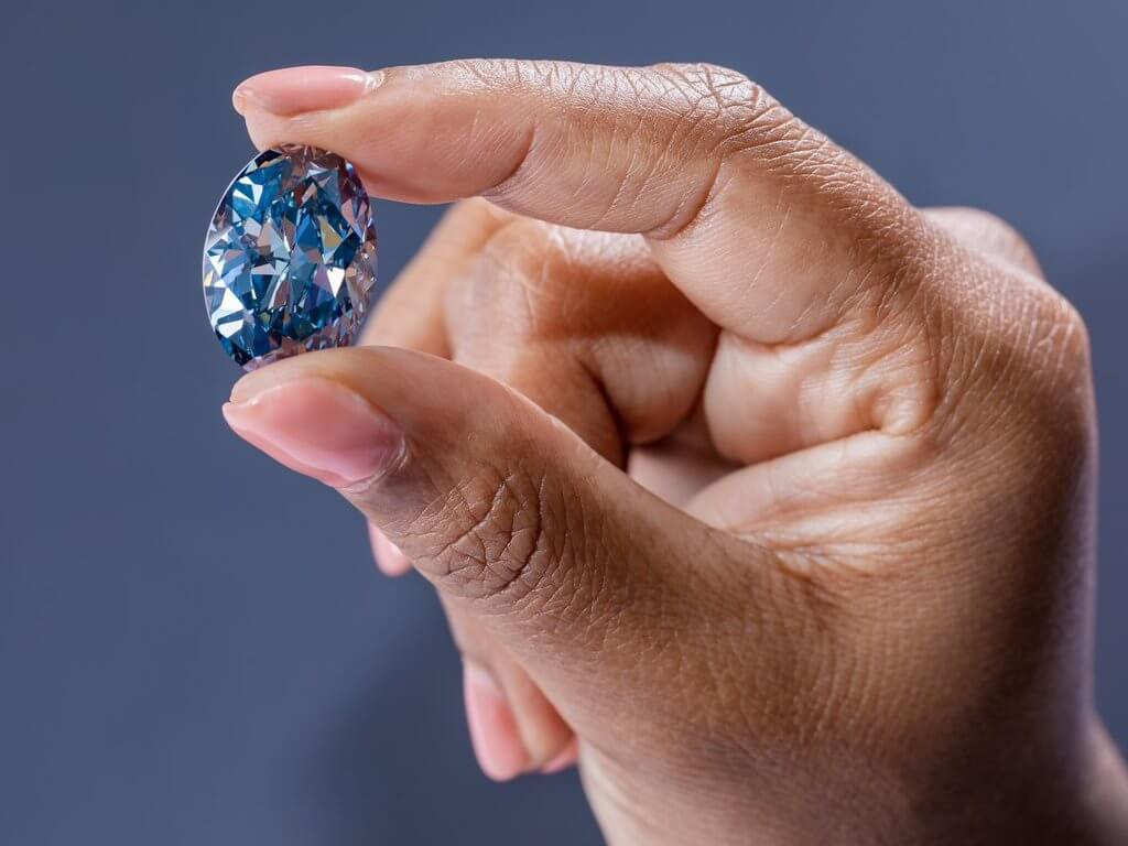 Okavango Blue Diamond