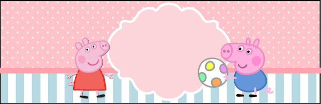 Peppa Pig Free Printable Labels And Toppers Oh My