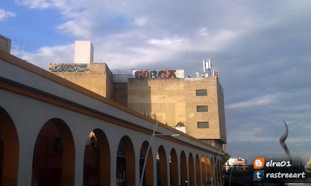 Grafitis en el centro de Guadalajara
