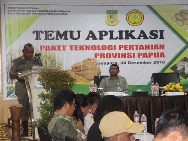 Doren Wakerwa Minta BPTP Dorong Petani Papua Gunakan Teknologi