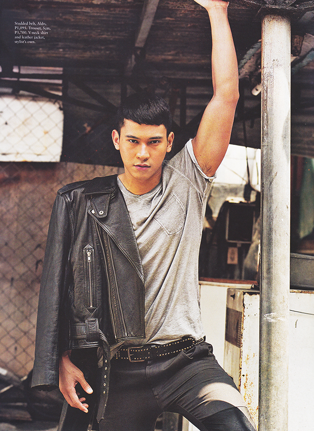 enchong dee by ronnie salvacion in cover story editorial