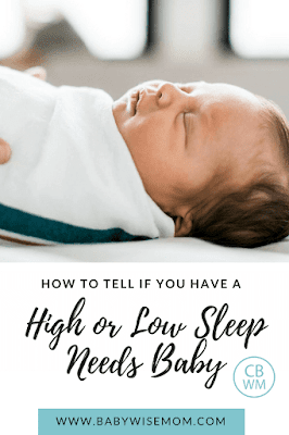 Understanding and Accepting Sleep Needs in Babies. How knowing what your child's sleep needs are will help you be a better mom.