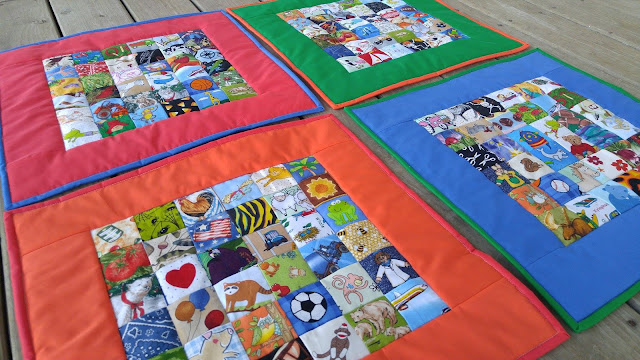 I Spy quilts for NICU quadruplet babies