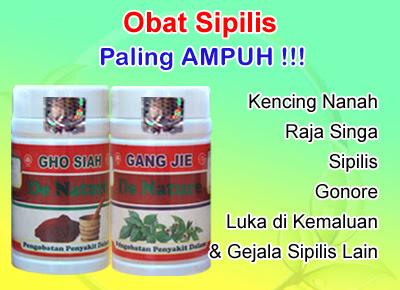Obat Sipilis Paling Manjur