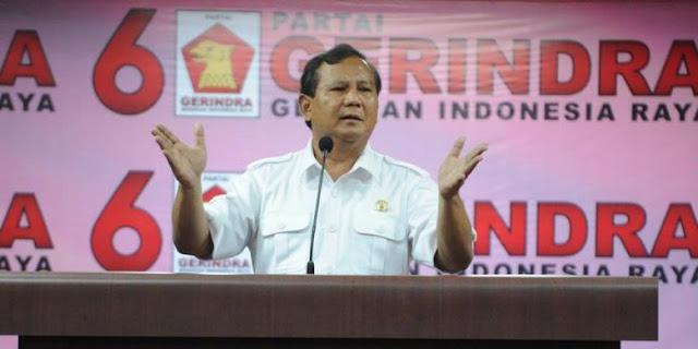 Ketum Gerindra, Prabowo Subianto