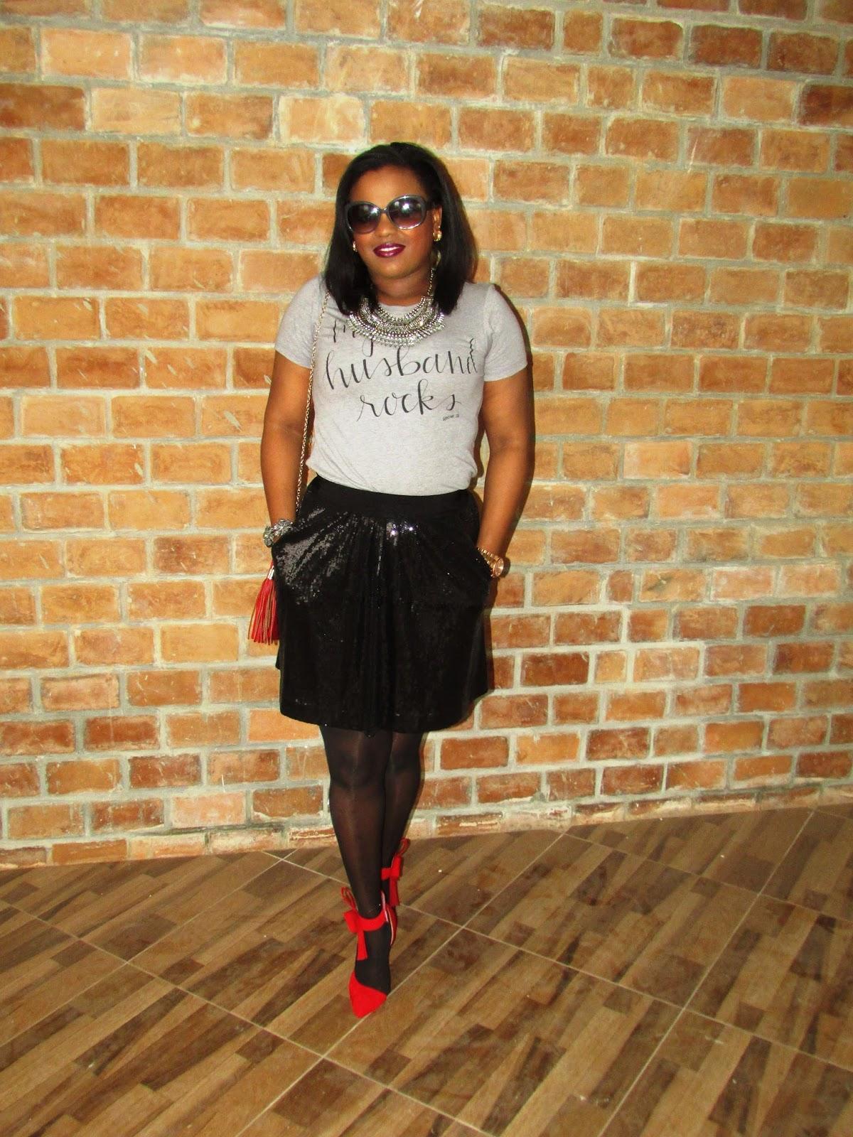 8f72b23d698 LaMoumous Fashion Blog  My Husband Rocks Tee