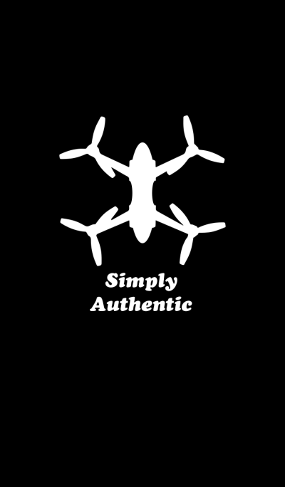 Simply Authentic Drone Black-White