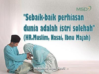 Wahai Istri, Jadilah Motivator bagi Suami