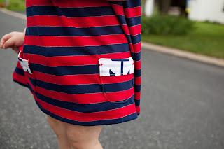 Pristine Swing Dress pattern by Blank Slate Patterns sewn by Pattern Revolution
