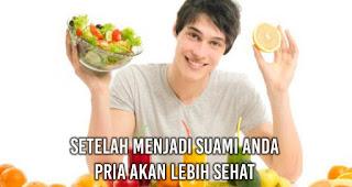 Setelah Menjadi Suami Anda Pria akan Lebih sehat